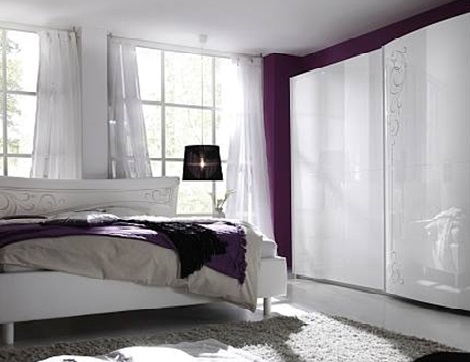 Camera Da Letto Bianco Lucido : Lastpro camera laccata bianco lucido